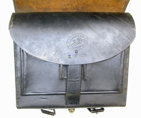 A Pattern 1864 Civil War Cartridge Box