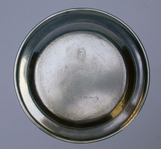 A Single Reed Rim Plate by Hale & Sons