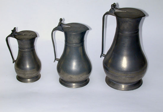 An Assembled Set of Three Guernsey Measures