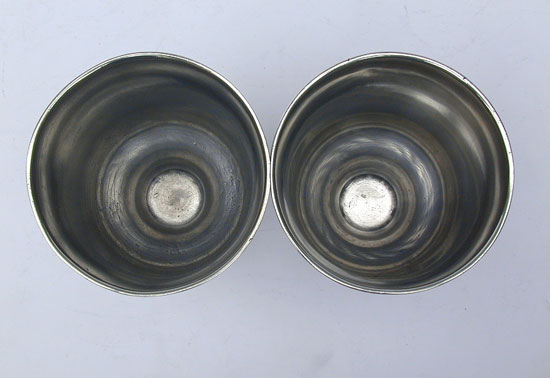A Pair of Unmarked Boardman Short Chalices
