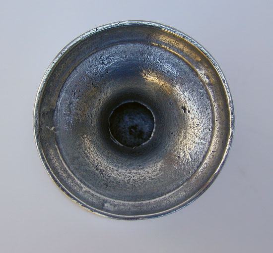 Small Unmarked Pewter Cup