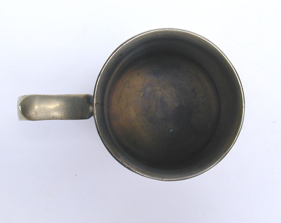A Brass English Mug with Double