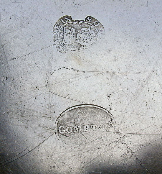A Near Mint Antique English Export, Thomas & Townsend Compton Deep Dish