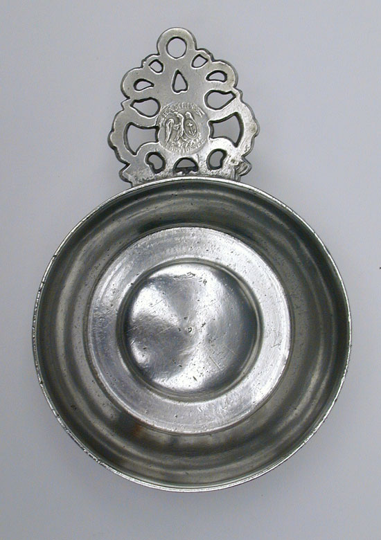 A Modified Old English Handle Porringer by Samuel E. Hamlin