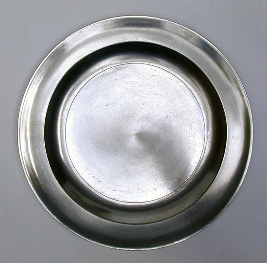 An Antique American Pewter