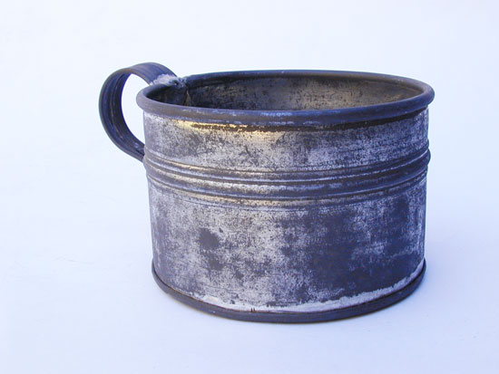 A Private Purchase Civil War Tin Cup