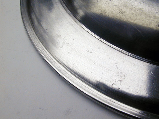 A Pewter Plate by the Boardmans