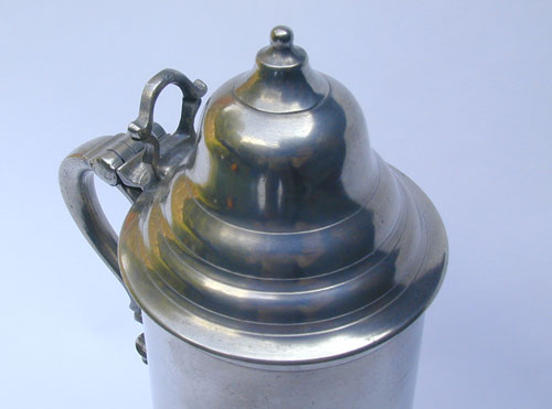 A Fine Unmarked English Export Flagon