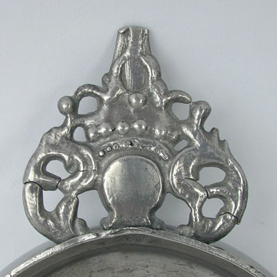 An Unusual RG Crown Handle Porringer