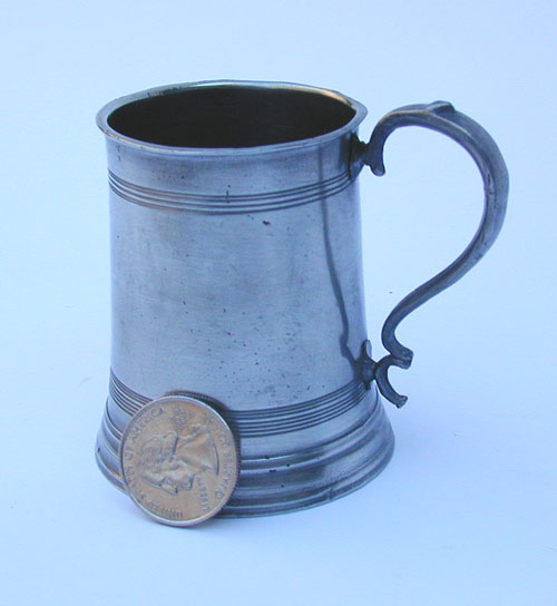 A Fine Miniature English Mug