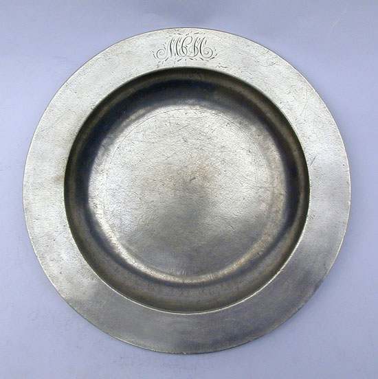 A Flat Rim Plate by Temple and Reynolds