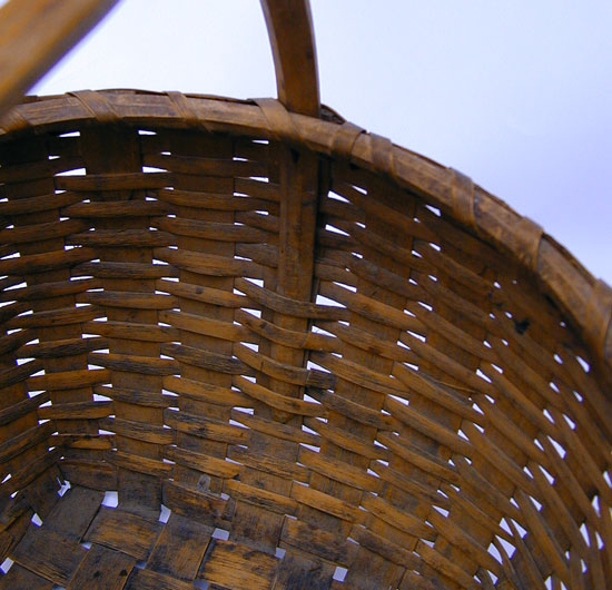 An Ash Basket
