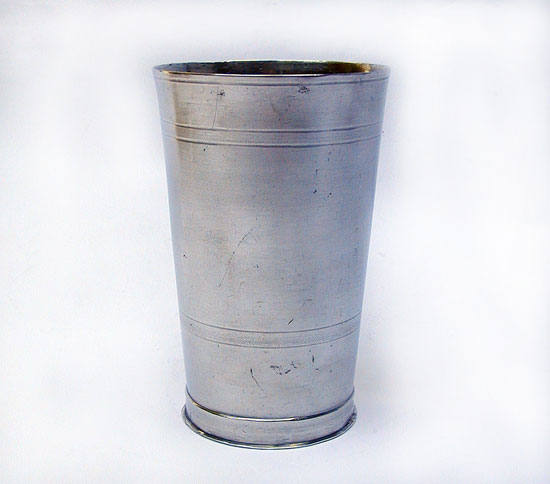 A Tall Unmarked Trask Beaker