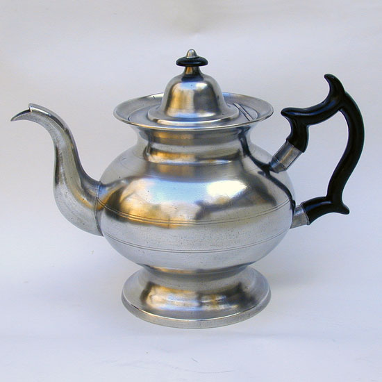 An Inverted Mold Teapot by Boardman and Hart