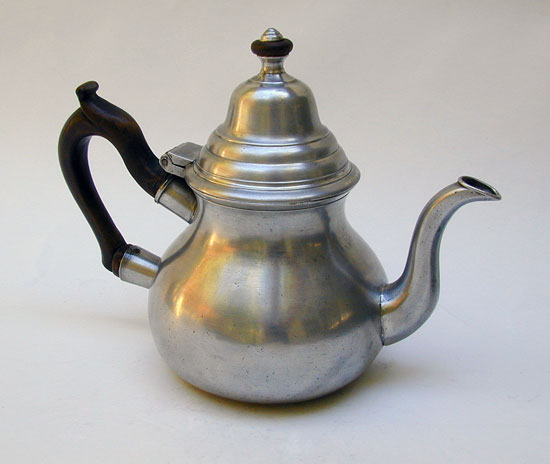 Export  Pewter Teapot by Hale