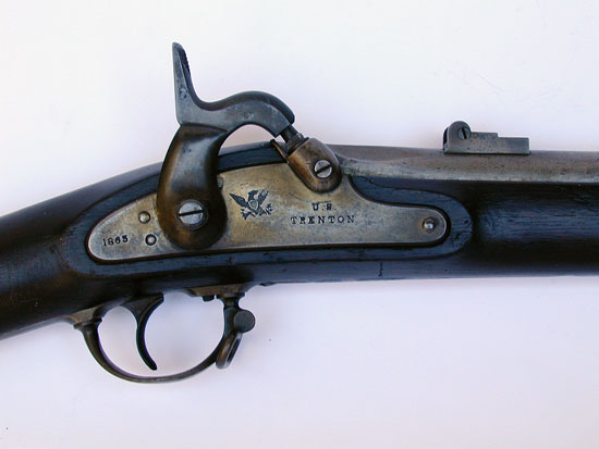 An 1861 Trenton Contract Rifle Musket