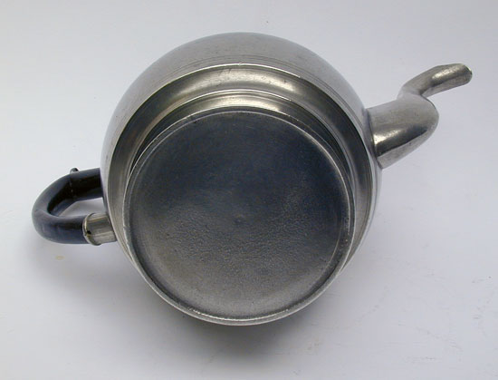 An Ashbil Griswold Inverted Mold Teapot